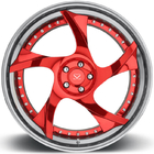 Customized 21 2-Piece Forged Wheels For Mercedes-Benz CL550/ Rims 21 inch with 5x112 PCD Made of 6061-T6