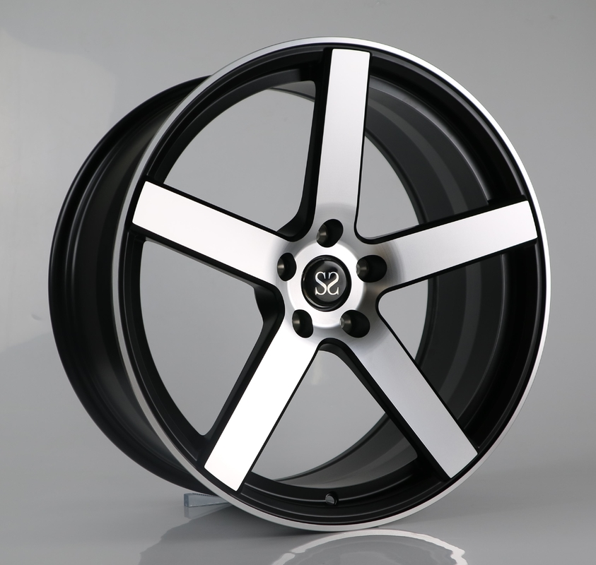 "17 19 inch car wheel, 22"" alloy forged machined face wheels rims for Tesla"