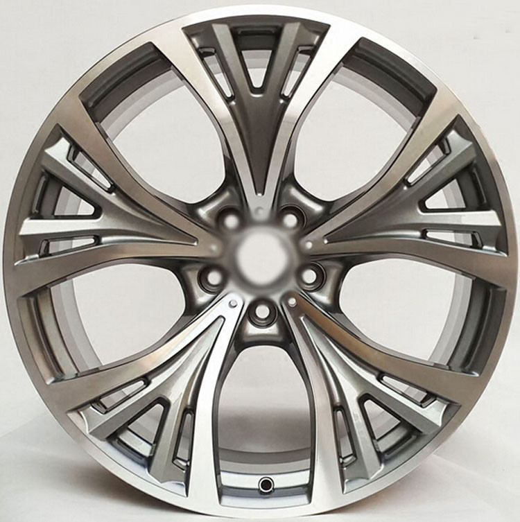 "Car Rim 21"" For BMW M4 / Gun Metal Machined  Customized 21inch Forged Aluminum Alloy Wheel Rims"