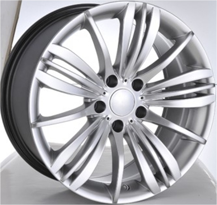 "Car Rims 20"" For BMW 740Li/ Hyper Silver Customized 20 inch Forged Aluminum Rims"