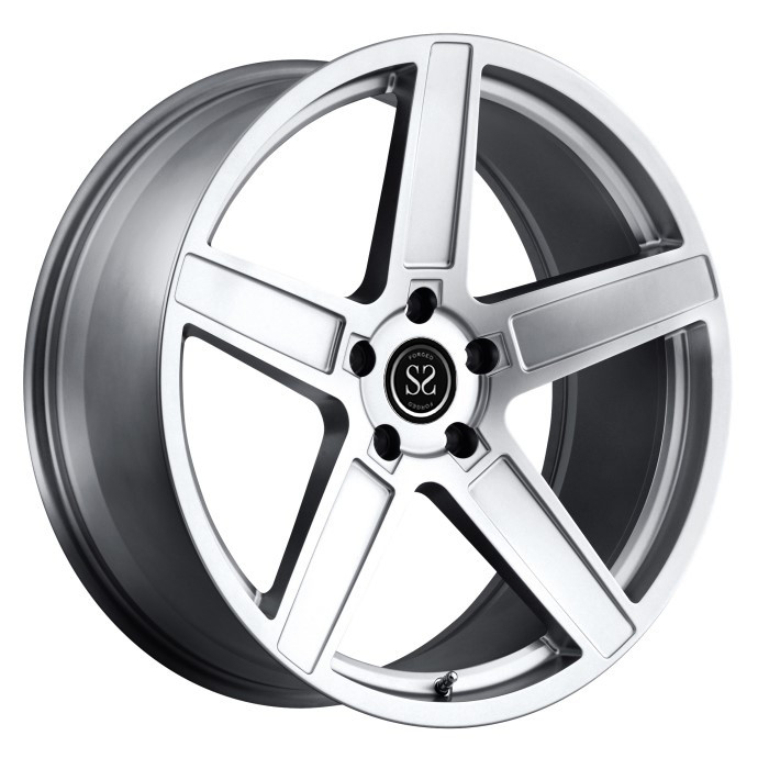 "1-Piece Forged Wheel Heavy Duty Rims 21"" Forged Alloy RIms For Nissan GT - R TUV Rims"